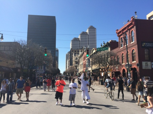 SXSW 6th Street pictures