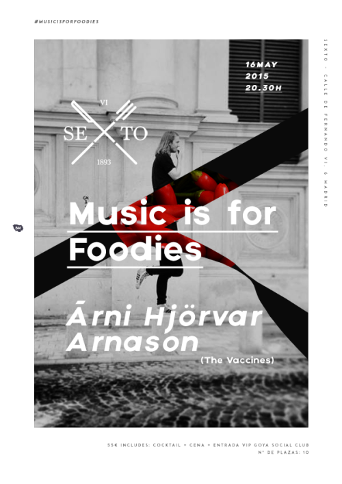 Music is for foodies